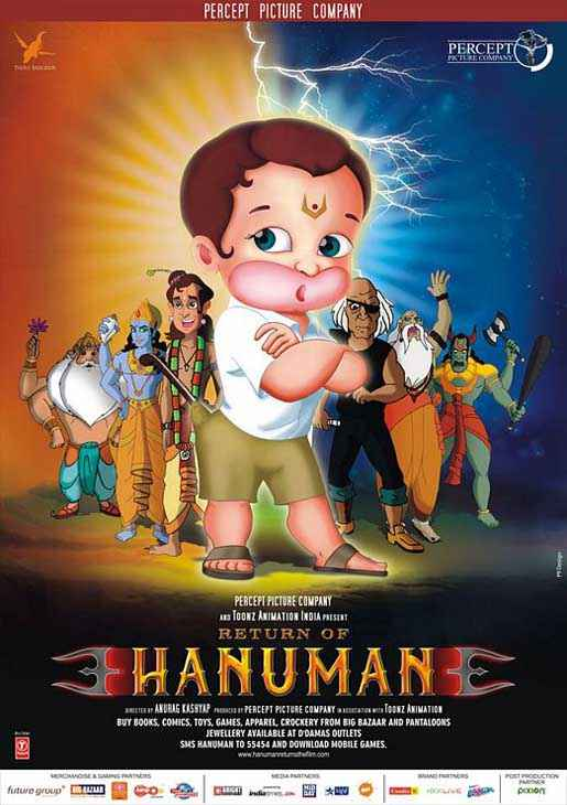 Return of Hanuman Poster