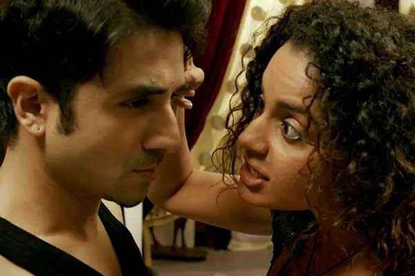 Revolver Rani Kangna Ranaut Vir Das Romance Stills