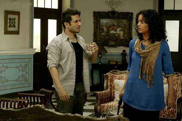 Revolver Rani Vir Das Kangna Ranaut Acting Stills