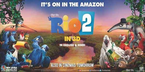 Rio 2 Image Poster