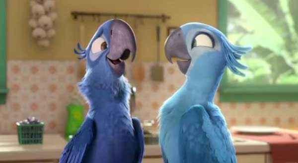 Rio 2 Bird Romance Stills