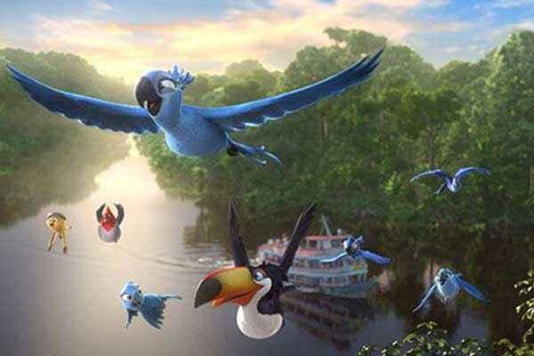 Rio 2 Birds In Sky Stills