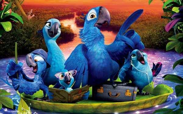 Rio 2 Cute Birds Stills