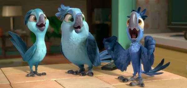 Rio 2 Three Blue Birds Stills