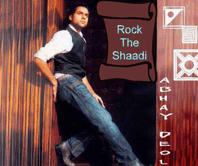 Rock The Shaadi  Poster