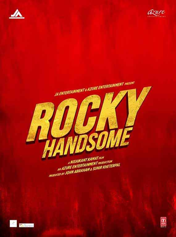 Rocky Handsome Image Poster