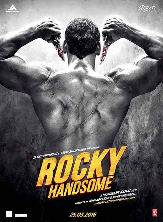 Rocky Handsome John Abraham Body Poster