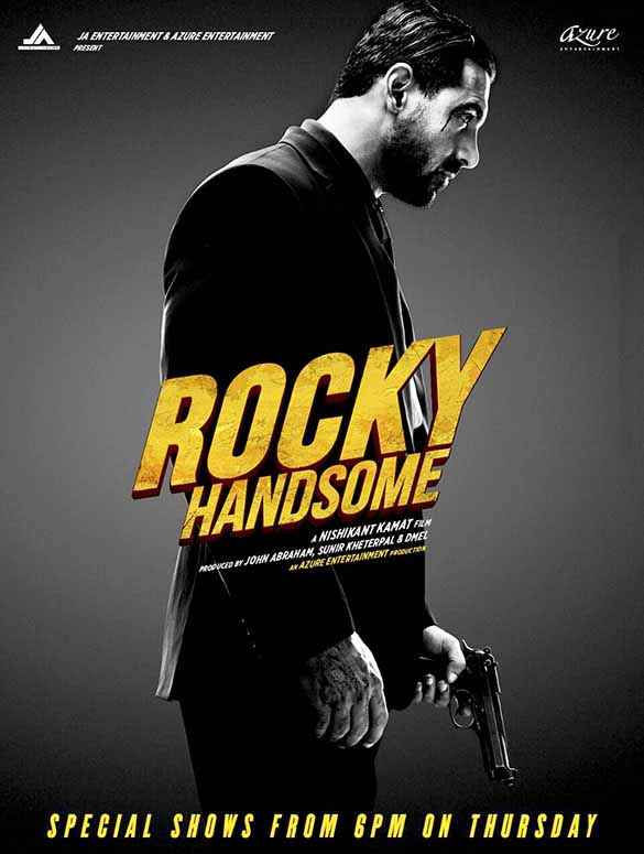 Rocky Handsome John Abraham HD Wallpaper Poster