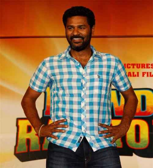 Rowdy Rathore Star Cast Prabhu Deva