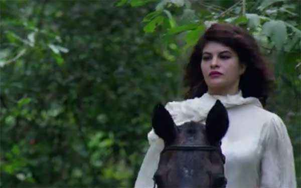 Roy Jacqueline Fernandez In White Dress Stills