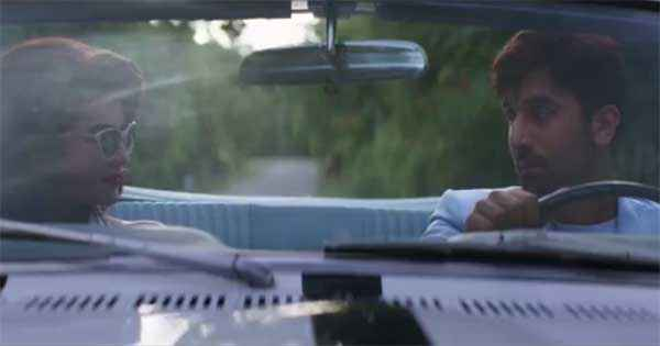 Roy Jacqueline Fernandez Ranbir Kapoor Romance In Car Stills