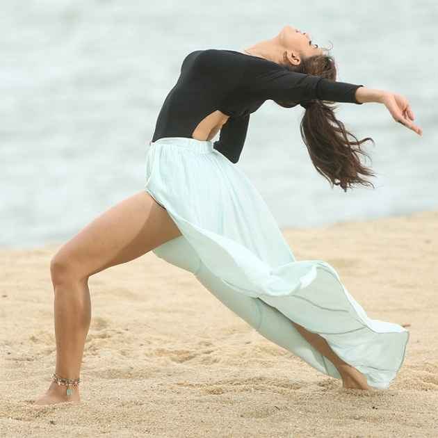Roy Jacqueline Fernandez Sexy Thigh Stills