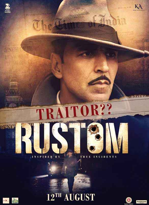 Rustom Akshay Kumar Poster