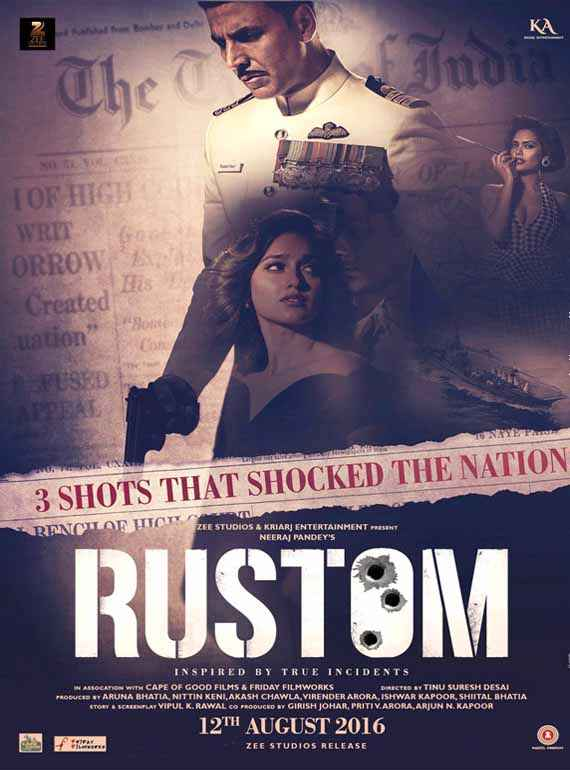 Rustom First Look Poster