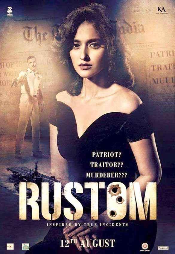 Rustom Ileana Dcruz Poster