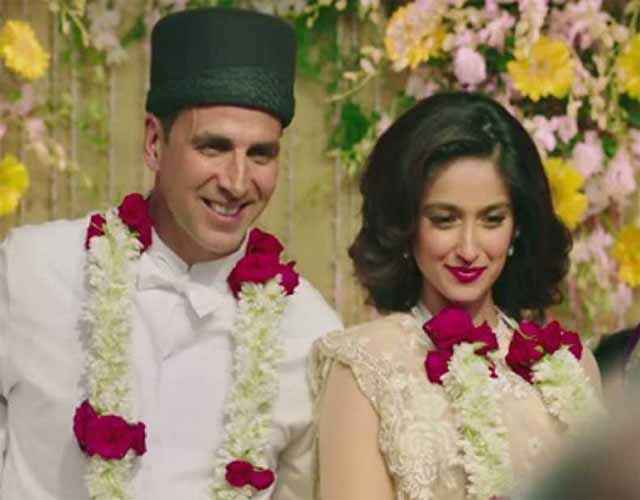 Rustom Akshay Kumar Ileana Dcruz Marriage Pic Stills