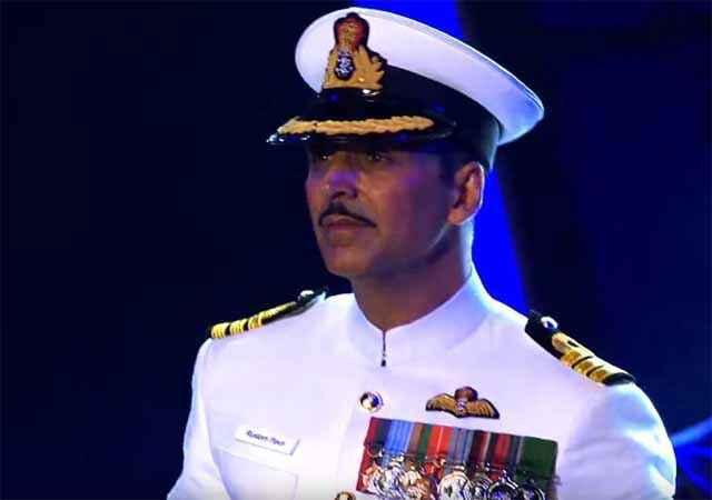 Rustom Akshay Kumar In Army Dress Stills