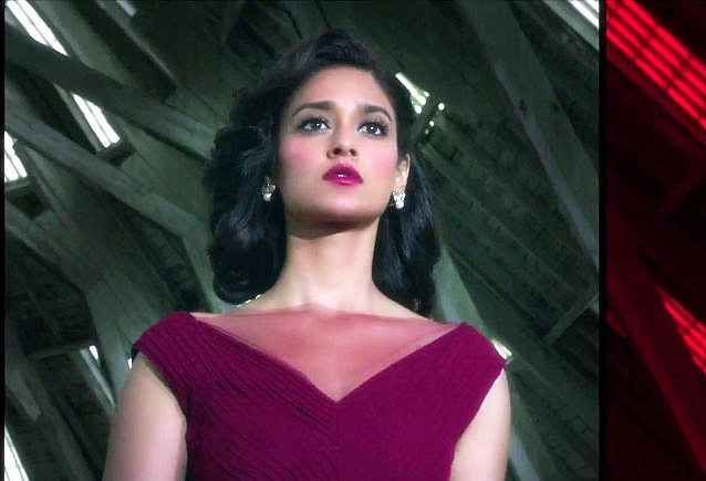Rustom Ileana Dcruz In Red Dress Stills