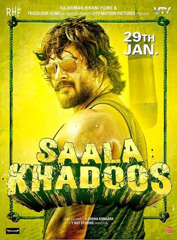Saala Khadoos R Madhavan Poster