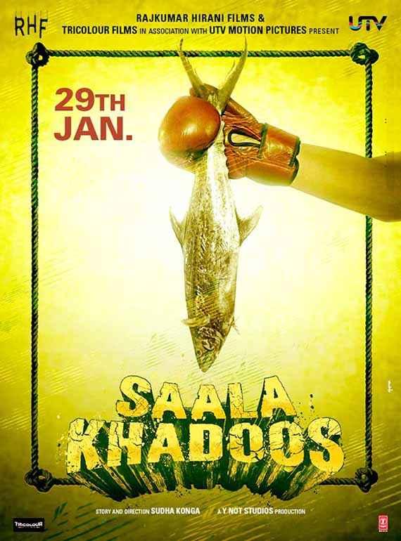 Saala Khadoos Wallpaper Poster