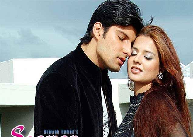 Saawan The Love Season Kapil Jhaveri Saloni Aswani Black Dress Stills