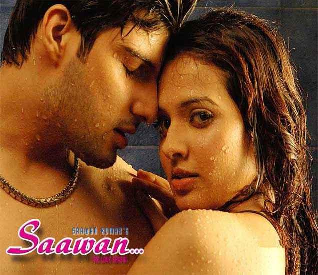 Saawan The Love Season Kapil Jhaveri Saloni Aswani Hot Wallpaper Stills