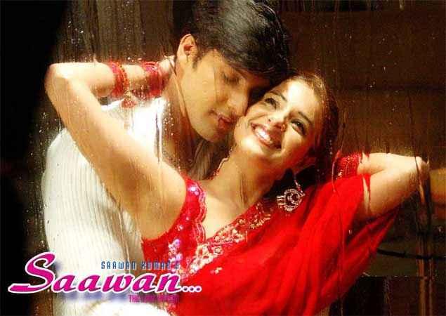 Saawan The Love Season Kapil Jhaveri Saloni Aswani Rain Scene Stills