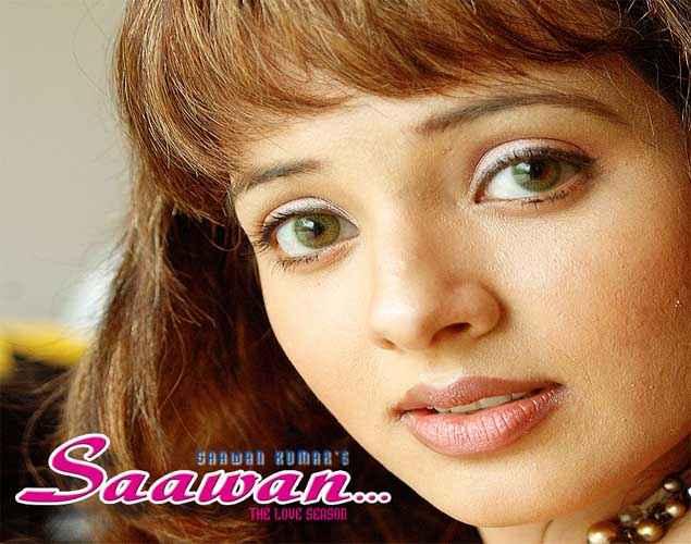 Saawan The Love Season Saloni Aswani Cute Eyes Wallpaper Stills