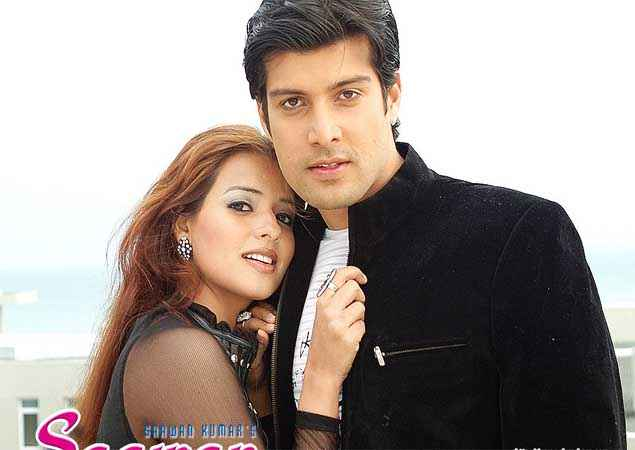 Saawan The Love Season Saloni Aswani Kapil Jhaveri Black Dress Wallpaper Stills
