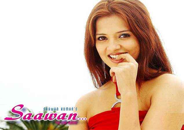 Saawan The Love Season Saloni Aswani Red Dress Wallpaper Stills