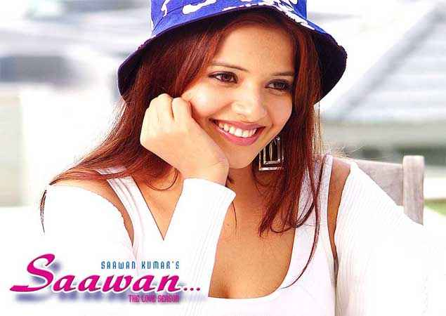 Saawan The Love Season Saloni Aswani White Dress Blue Cap Wallpaper Stills