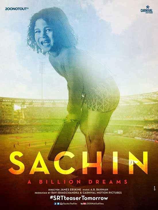 Sachin - A Billion Dreams Sachin Childhood Poster