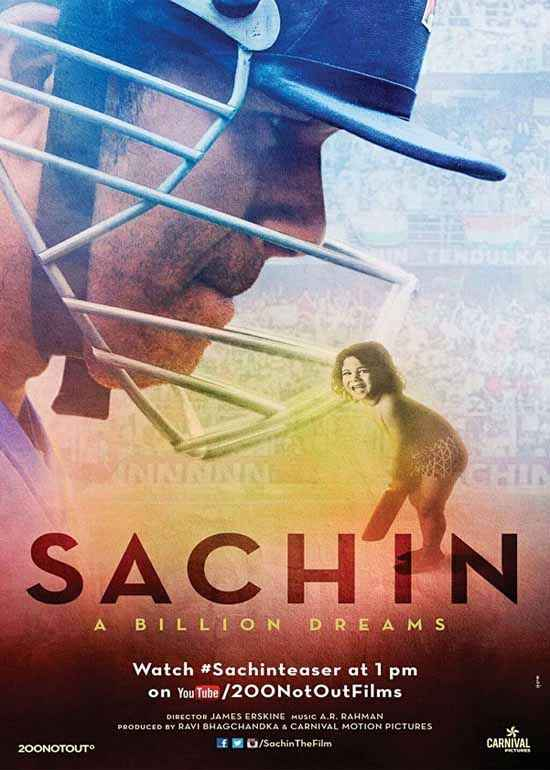 Sachin - A Billion Dreams  Poster