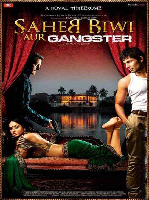 Saheb Biwi Aur Gangster Poster