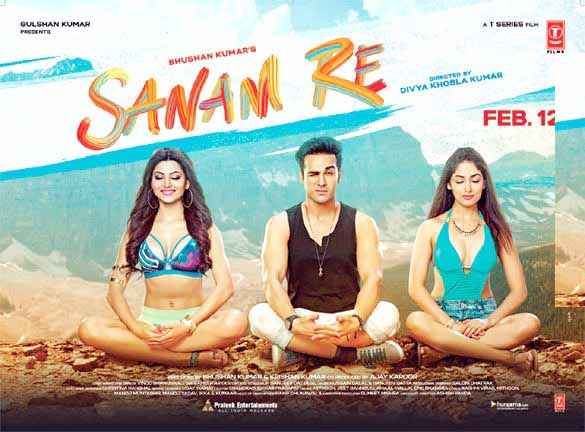 Sanam Re First Look Poster