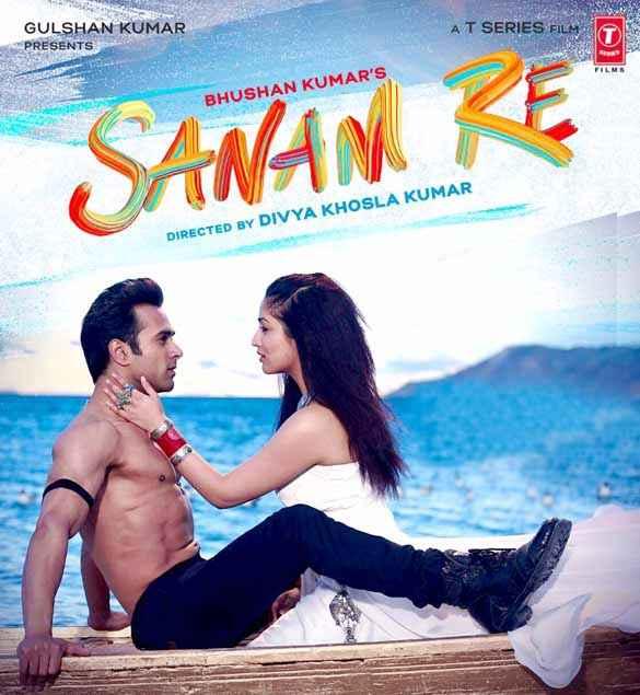 Sanam Re Pulkit Samrat Yaami Gautam Romantic Poster