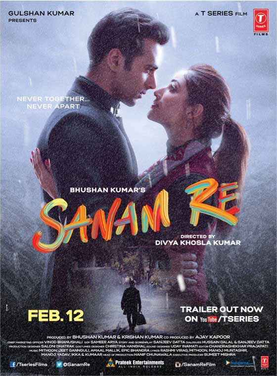 Sanam Re Pulkit Samrat Yaami Gautam Poster