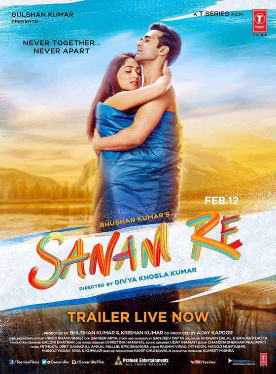 Sanam Re Yaami Gautam Pulkit Samrat Hot Poster