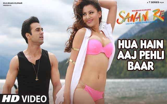 Sanam Re Pulkit Samrat Urvashi Rautela In Hua Hai Aaj Pehli Baar Song Stills