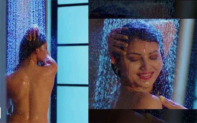 Sanam Re Urvashi Rautela Bathing Scene Stills