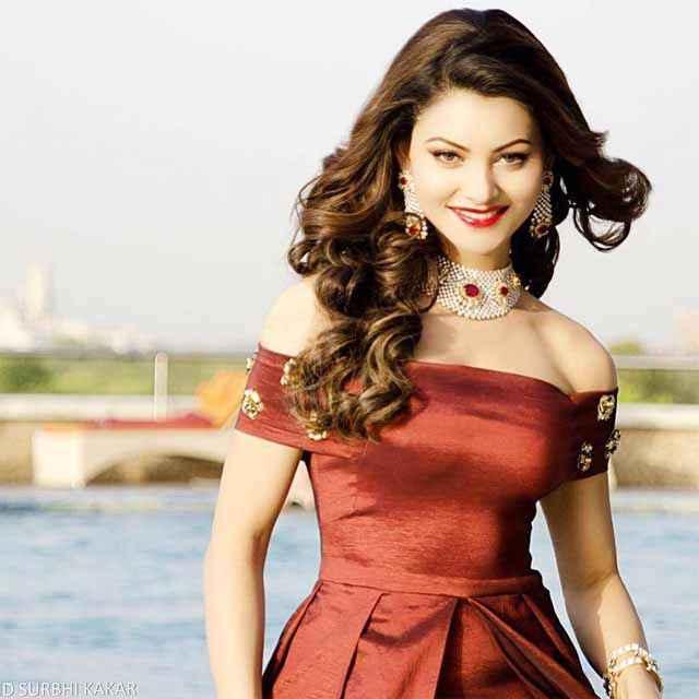 Sanam Re Urvashi Rautela In Red Dress Stills