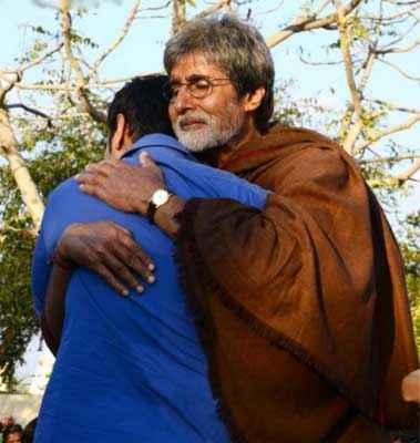 Satyagraha Amitabh Bachchan Ajay Devgn Stills