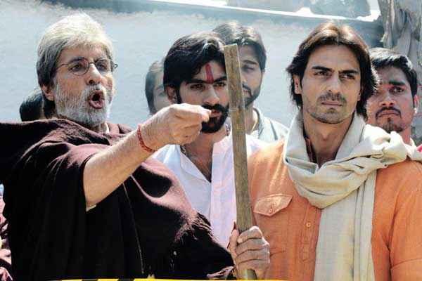 Satyagraha Amitabh Bachchan Arjun Rampal Stills