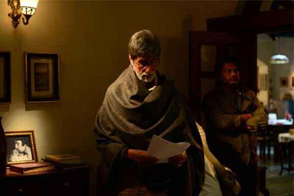 Satyagraha Amitabh Bachchan in Room Stills