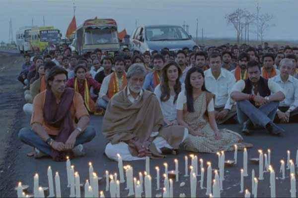 Satyagraha Whole Team Stills