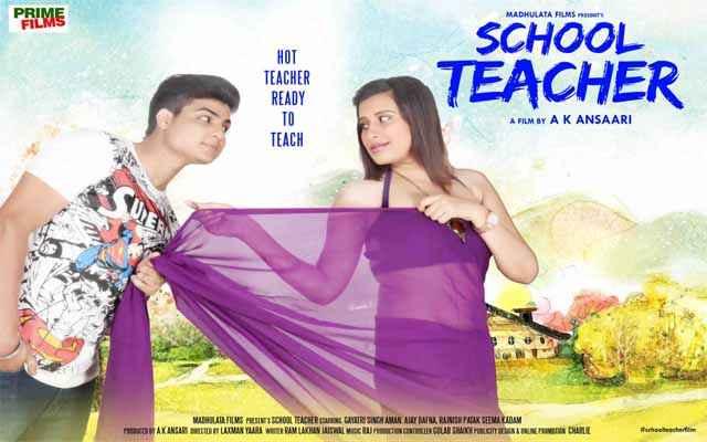 School Teacher Gayatri Singh Aman Ajay Bafna Romance Poster