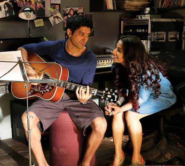 Shaadi Ke Side Effects Farhan Akhtar Vidya Balan With Gittar Stills