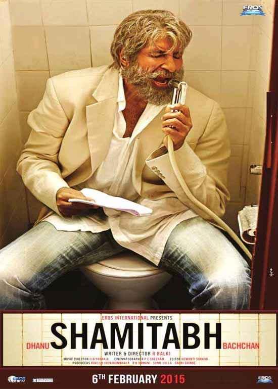 Shamitabh Amitabh Bachchan Poster