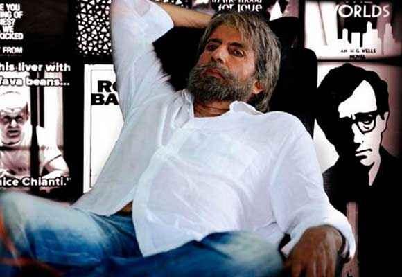 Shamitabh Amitabh Bachchan Acting Stills