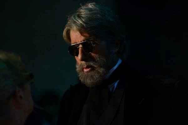 Shamitabh Amitabh Bachchan Beard Stills